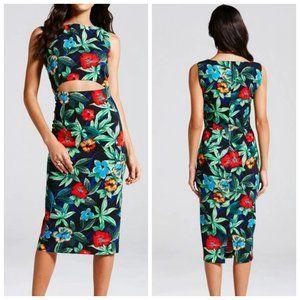 NWOT REVOLVE GIRLS ON FILM Tropical Dress